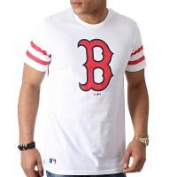 NEW ERA MLB TEAM LOGO TEE BOSTON RED SOX OPTIC WHITE