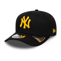 NEW ERA ESSENTIAL LEAGUE 9FIFTY STRETCH SNAP NY YANKEES BLACK