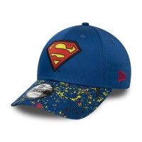 NEW ERA 9FORTY CHARACTER SUPERMAN YOUTH CAP BLUE