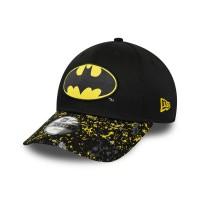 NEW ERA 9FORTY CHARACTER BATMAN YOUTH CAP BLACK