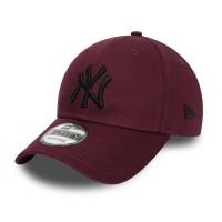 NEW ERA ESSENTIAL 9FORTY CAP NEW YORK YANKEES MAROON