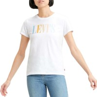LEVIS THE PERFECT TEE WHITE-NEUTRAL
