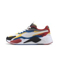PUMA RS-X3 PUZZLE SHOES PWHITE/SPECTRA YELLOW/PBLACK