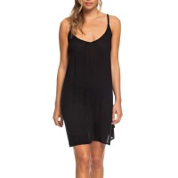 ROXY BE IN LOVE STRAPPY DRESS ANTHRACITE