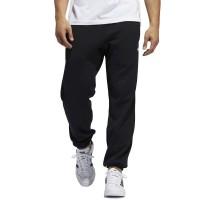 ADIDAS 3-STRIPES WRAP SWEAT PANTS BLACK/WHITE