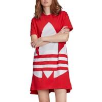 ADIDAS LARGE LOGO DRESS LUSH RED/WHITE