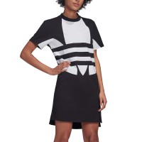 ADIDAS LARGE LOGO DRESS BLACK/WHITE
