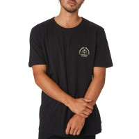 GLOBE ARCH TEE WASHED BLACK