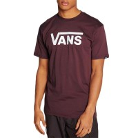 VANS CLASSIC TEE PORT ROYALE/WHITE