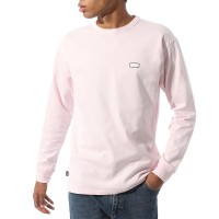 VANS OFF THE WALL CLASSIC GRAPHIC LS TEE COOL PINK