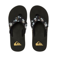 QUIKSILVER MONKEY ABYSS SANDALS BLACK/WHITE/BLACK
