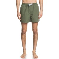 """QUIKSILVER EVERYDAY VOLLEY 15"""" SWIM SHORTS FOUR LEAF CLV"""