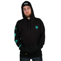 THE DUDES GAME OVER HOODY BLACK