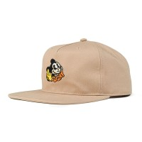 THE DUDES FUCKY UNSTRUCTURED 5 PANEL CAP TAN