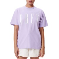 OBEY CHOICE TEE LAVENDER