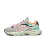 PUMA RS-CONNECT DRIP SNEAKERS GRAY/VIOLET PINK