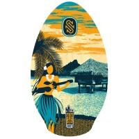 "SLIDZ TAHITI SKIMBOARD 35"" BLUE/ORANGE"
