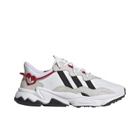 ADIDAS OZWEEGO SHOES FTWR WHITE/CORE BLACK/SCARLET