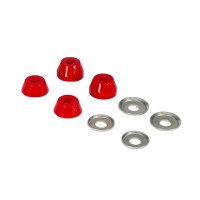 INDEPENDENT STANDARD CONICAL SOFT 88A BUSHINGS RED