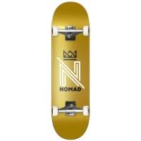 NOMAD OG LOGO COMPLETE SKATE GOLD 8.0