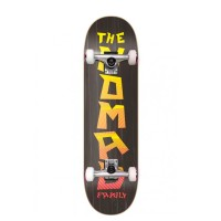 NOMAD WIRE IN COMPLETE SKATE CHARCOAL 8.0
