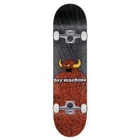 TOY MACHINE FURRY MONSTER COMPLETE SKATE 8.0