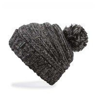 DAKINE SCRUNCH W BEANIE BLACK MIX