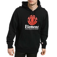 ELEMENT VERTICAL HOODIE FLINT BLACK