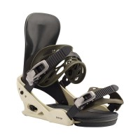 BURTON MISSION RE:FLEX SNOWBOARD BINDING OFF WHITE/BLACK