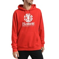 ELEMENT VERTICAL HOODIE FIRE RED