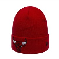 NEW ERA TEAM CUFF KNIT BEANIE CHICAGO BULLS OTC RED