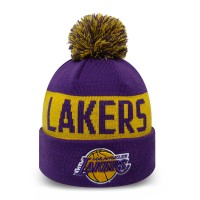 NEW ERA TEAM TONAL KNIT BEANIE LOS ANGELES LAKERS OTC