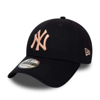 NEW ERA 9FORTY LEAGUE ESSENTIAL CAP N.Y YANKEES NAVY/BL SKY