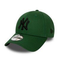 NEW ERA 9FORTY LEAGUE ESSENTIAL CAP NY YANKEES HOG/BLACK