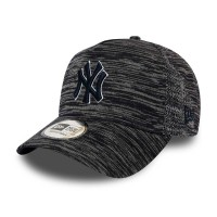 NEW ERA 9FORTY ENGINEERED FIT TRUCKER CAP NY YANKEES BLACK