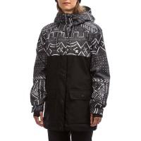 DC CRUISER W SNOW JACKET BLACK MUD CLOTH PRINT
