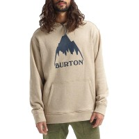 BURTON OAK PULLOVER HOODIE PLAZA TAUPE HEATHER