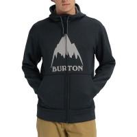 BURTON OAK FULL ZIP HOODIE MOUNTAIN TBLK HEATHER