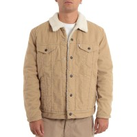 LEVIS TYPE 3 SHERPA TRUCKER JACKET TRUE CHINO CORD BETTER