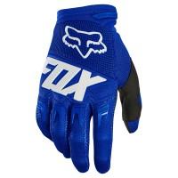 FOX DIRTPAW GLOVE BLUE/WHITE
