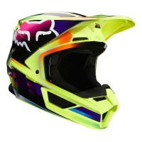 FOX V1 GAMA HELMET YELLOW