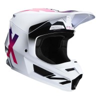 FOX V1 WERD HELMET WHITE