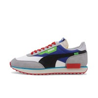 PUMA FUTURE RIDER RIDE ON SHOES WHITE/HIGH RISE/DAZZ BLUE