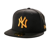 NEW ERA LEAGUE ESSENTIAL 59FIFTY NY YANKEES BLK/ROSE GOLD