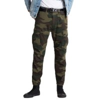 LEVIS TAPERED CARGO PANTS WAVE CAMO WILD COFFEE WONDERKNIT