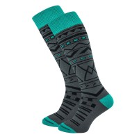 HORSEFEATHERS RIVEN THERMOLITE SNOW SOCKS GRAY