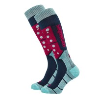 HORSEFEATHERS SYNDRA THERMOLITE SNOW SOCKS BLUE