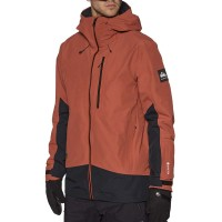 QUIKSILVER FOREVER 2L GORE-TEX SNOW JACKET BARN RED