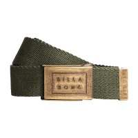 BILLABONG SERGEANT BELT DARK MILITARY