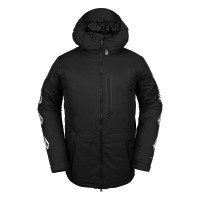 VOLCOM DEADLYSTONES INS SNOW JACKET BLACK